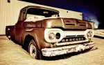 1961 Mercury 100 Pickup, Brock Enterprises, High Level, Alberta 24