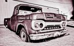 1961 Mercury 100 Pickup, Brock Enterprises, High Level, Alberta 25