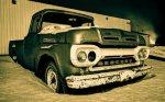 1961 Mercury 100 Pickup, Brock Enterprises, High Level, Alberta 12