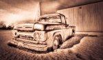1961 Mercury 100 Pickup, Brock Enterprises, High Level, Alberta 9