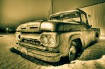 1961 Mercury 100 Pickup, Brock Enterprises, High Level, Alberta 3