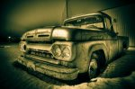 1961 Mercury 100 Pickup, Brock Enterprises, High Level, Alberta 5