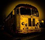 1950s Greyhound Bus - Brock Enterprises, High Level, Alberta 2