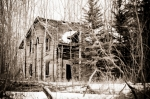Disused Farmhouse - Nampa, Alberta 2
