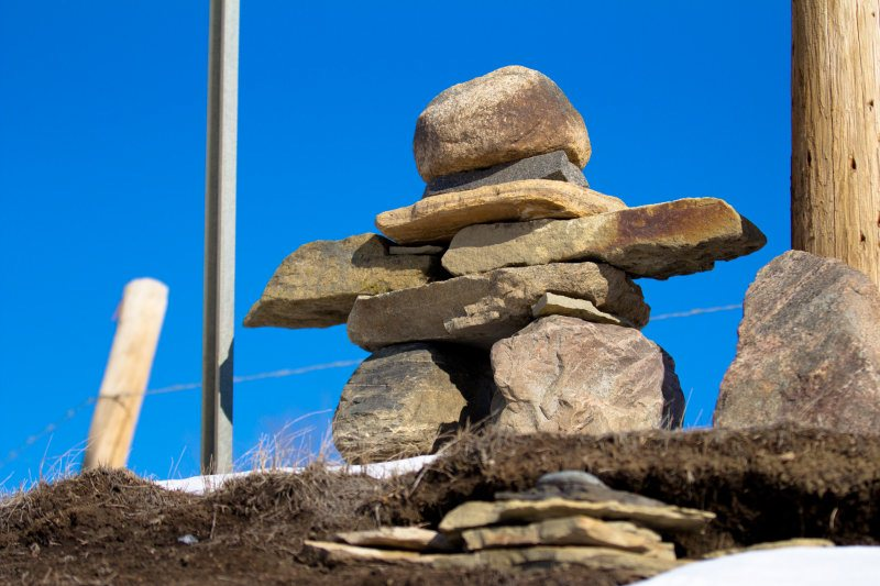 Inuksuk - Highway 685 ... Others Have Been Here, too