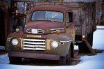 Mercury Grain Truck, Agricultural Display, Manning, Alberta 1