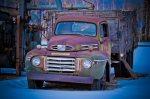 Mercury Grain Truck, Agricultural Display, Manning, Alberta 2