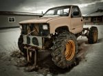 Bog Runner Project Vehicle ... In Development - High Level, Alberta