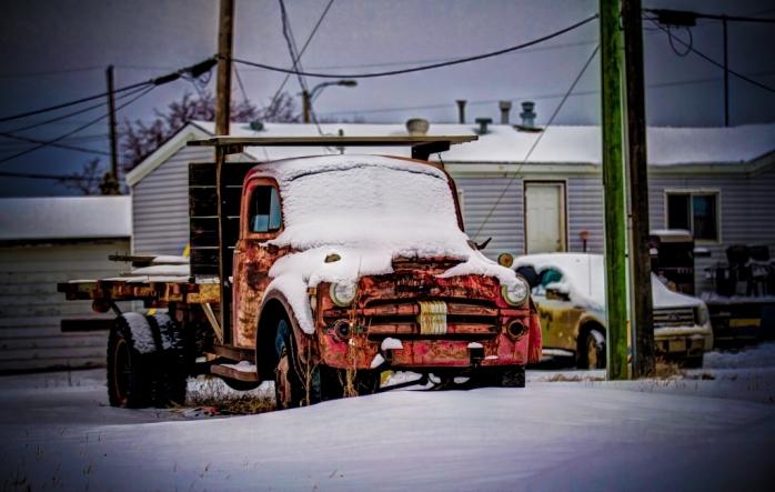 Fifties Flatdeck Truck - Nampa, Alberta