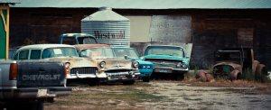 Makeshift Autoyard - Southern British Columbia 2