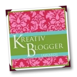 15 June 2012 - Kreativ Blogger Award