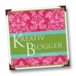 15 June 2012 - Kreativ Blogger Award