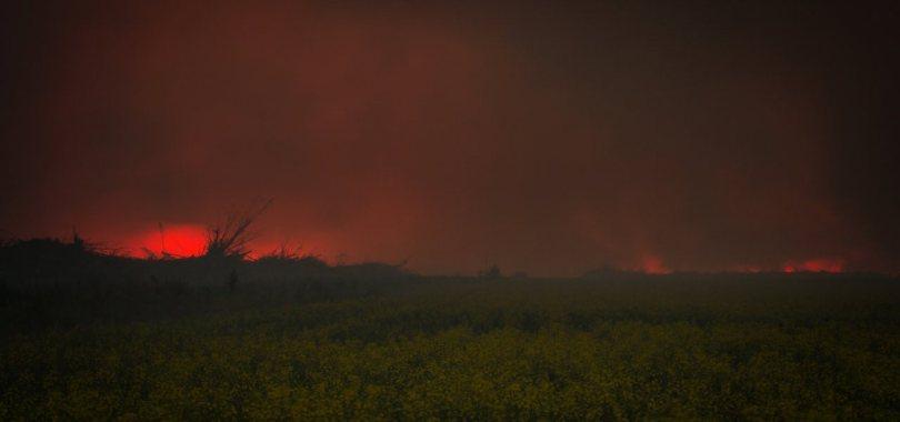 5 Fire - Wilson Prairie Road - La Crete, Alberta