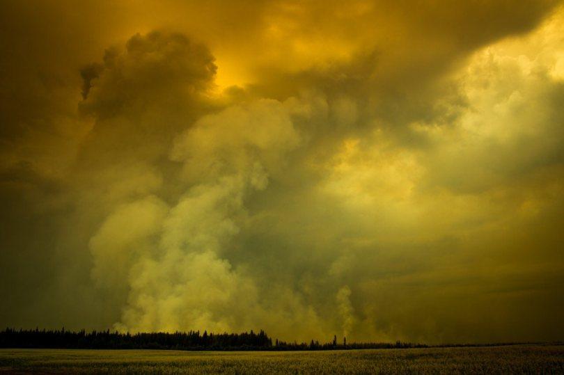 1 Wilson Prairie Wildfire - La Crete, Alberta