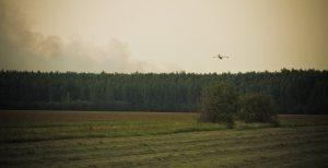 6 Water Bomber - Wilson Prairie Fire, La Crete, Alberta