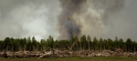 Water Slinging 4 - Wilson Prairie Fire, La Crete, Alberta