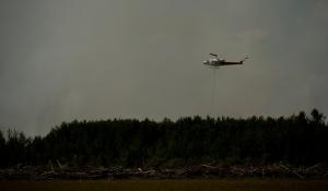 Water Slinging 5 - Wilson Prairie Fire, La Crete, Alberta