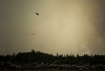 Water Slinging 7 - Wilson Prairie Fire, La Crete, Alberta