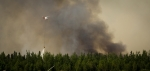Water Slinging 9 - Wilson Prairie Fire, La Crete, Alberta