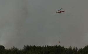 Water Slinging 14 - Wilson Prairie Fire, La Crete, Alberta
