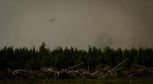 Water Slinging 16 - Wilson Prairie Fire, La Crete, Alberta