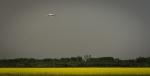 Air Tanker Water Bombing 18 - Wilson Prairie Fire, La Crete, Alberta