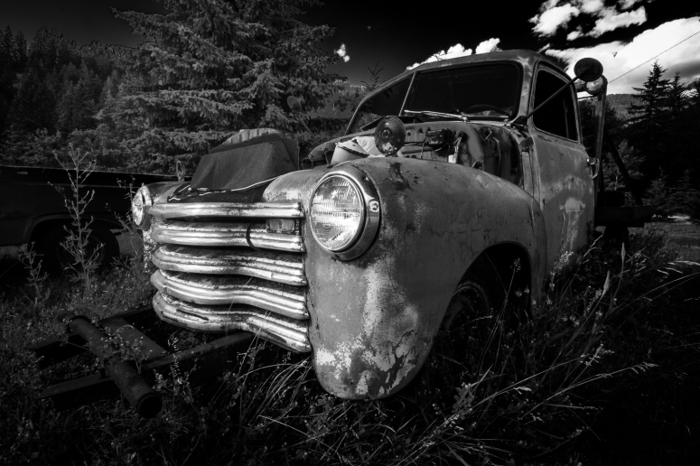 Re-tasking A Vavenby Ford, Vavenby, British Columbia