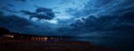 Evening's Dramatic Skies - Qualicum Beach, British Columbia