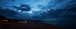 Evening's Dramatic Skies - Qualicum Beach, British Columbia