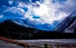 Mountain Pass - between Jasper and Banff, Alberta