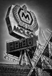 Molson Beacon - Black and White