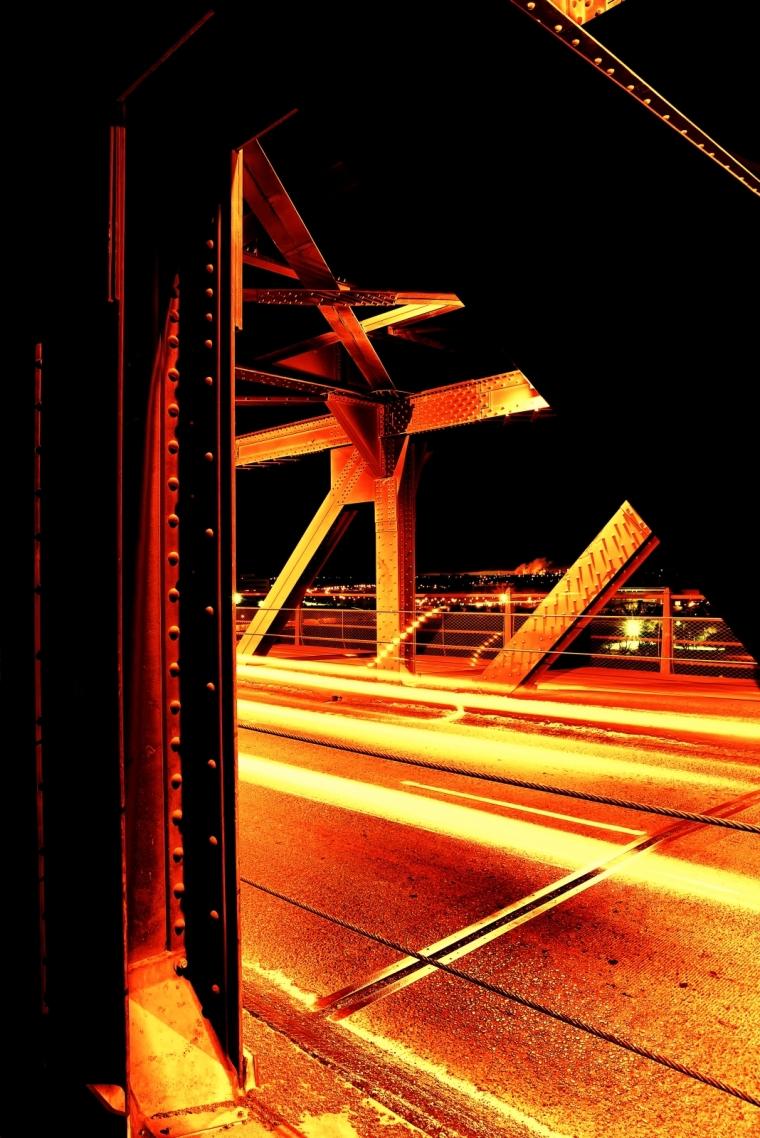 Rivet and Girder - High Level Bridge - Edmonton Alberta