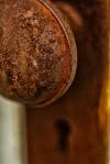 Weathered Door Handle 2 - Fort Vermilion, Alberta