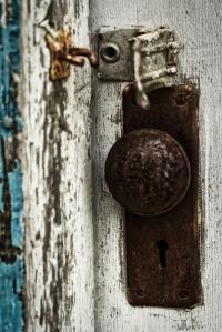 Weathered Door Jam - Fort Vermilion, Alberta