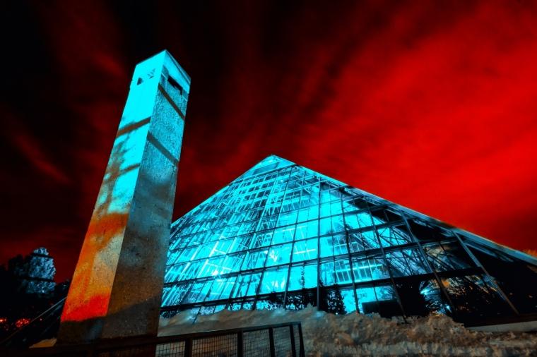 Muttart Conservatory - Edmonton, Alberta