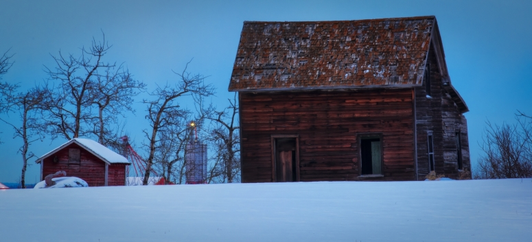 Derelict Farmhouse 2 - Lamont, Alberta 1