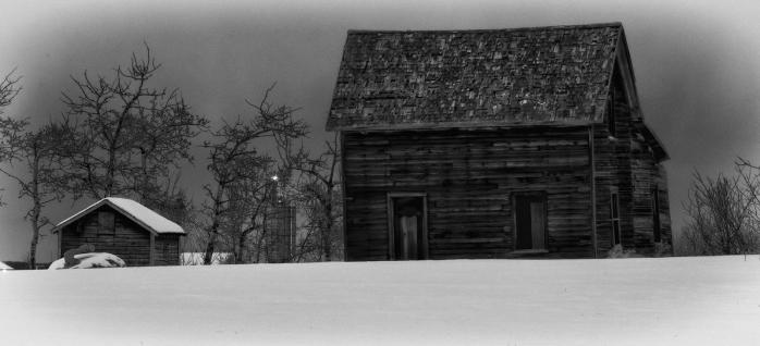 Derelict Farmhouse - Lamont, Alberta 2