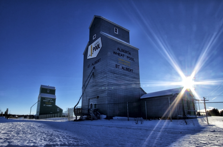 Grain Elevators - St. Albert, Alberta 1