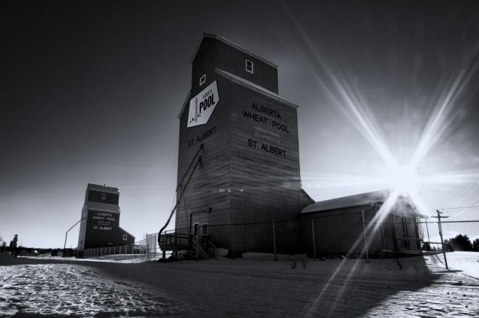 Grain Elevators - St. Albert, Alberta 2