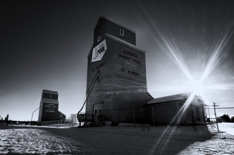 Grain Elevators - St. Albert, Alberta 2