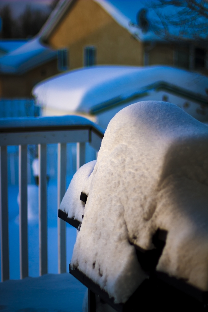 Snow - Back Deck 3