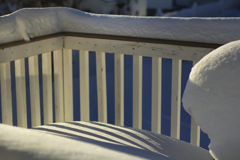Snow - Back Deck 5