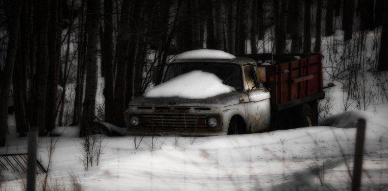 Ford Grain Truck - Wabamun, Alberta