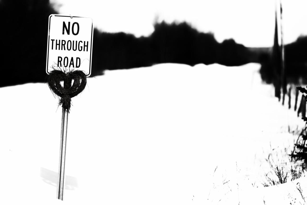No Through Road 1