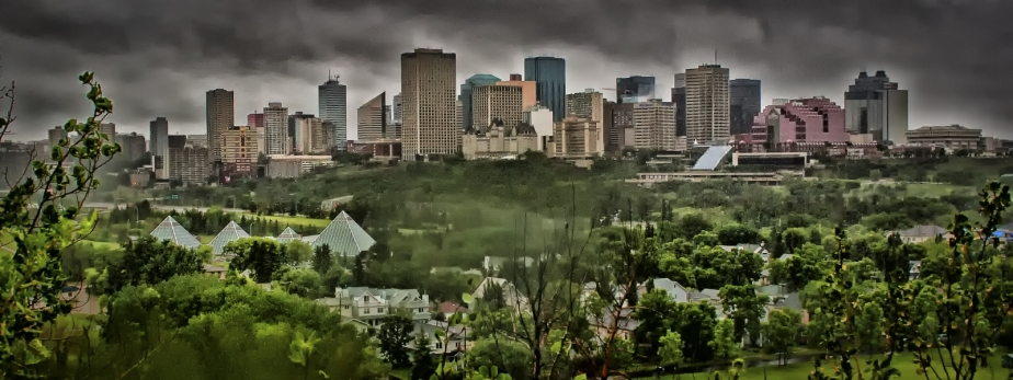 Skyline - Edmonton, Alberta