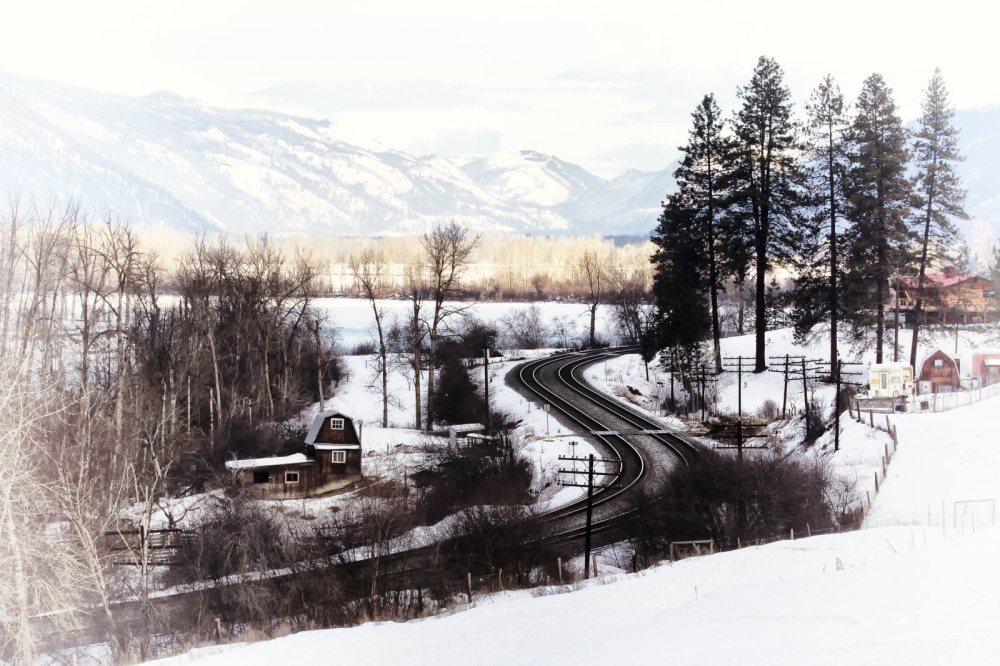 Train Tracks  - Kamloops, British Columbia