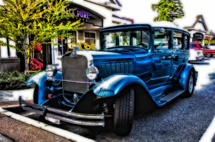 Walkabout Friday - 30s Sedan