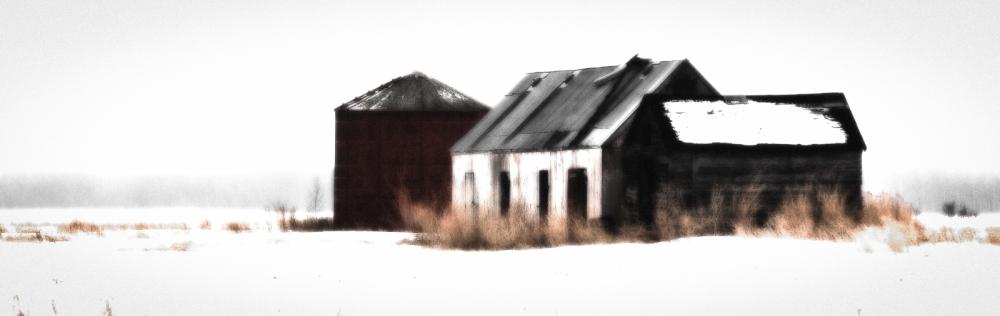 1 Former Farm Buildings - Guy, Alberta 1