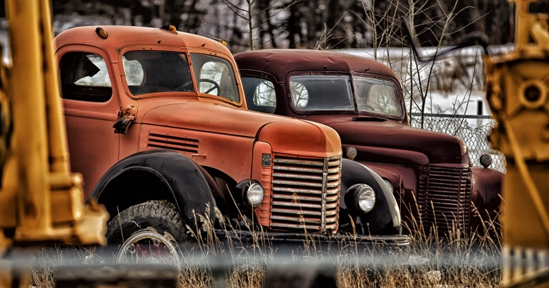 17 Former Highway Construction Vehicles 1