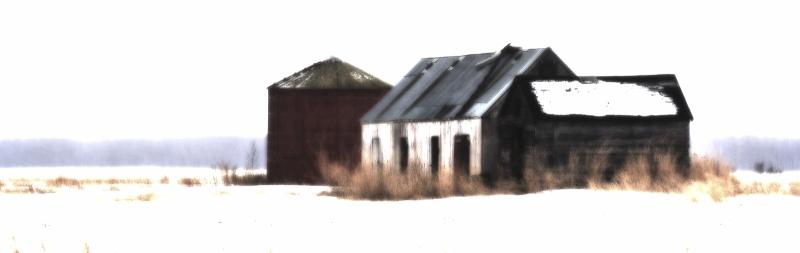 3 Farm Buildings - Guy, Alberta 1
